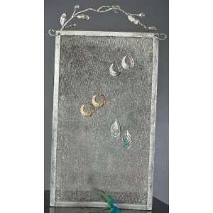 Mesh Wall Earring Display Holder   Wall Hanging 2 Ft Tall! Jewelry